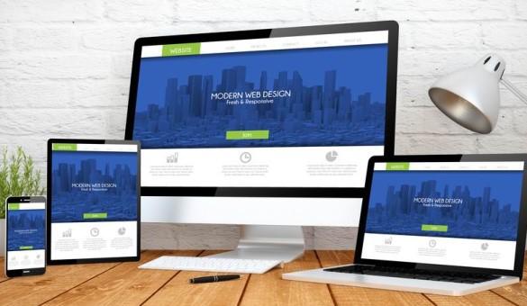 Webdesign, Homepage erstellen