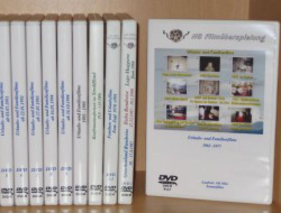 Video-DVD mit Box und Cover Gestaltung
